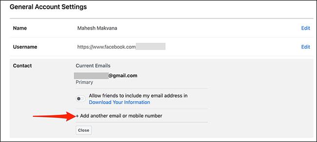 cach doi mail facebook 5