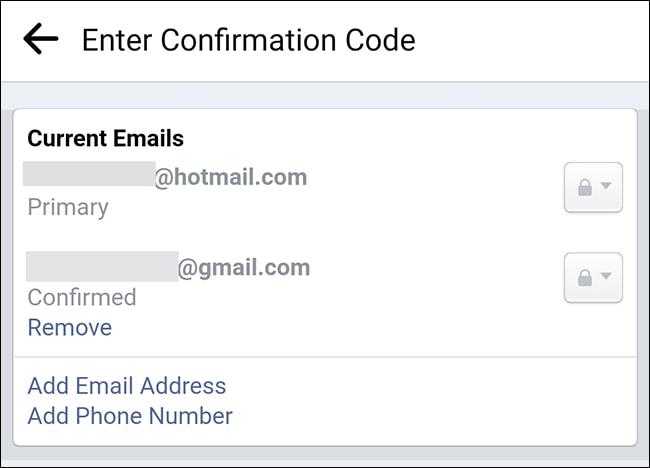 doi email facebook bang ung dung 12