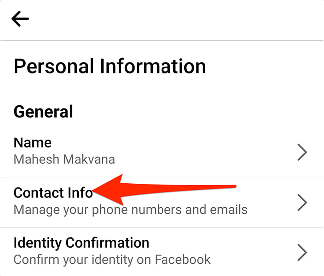 doi email facebook bang ung dung 5