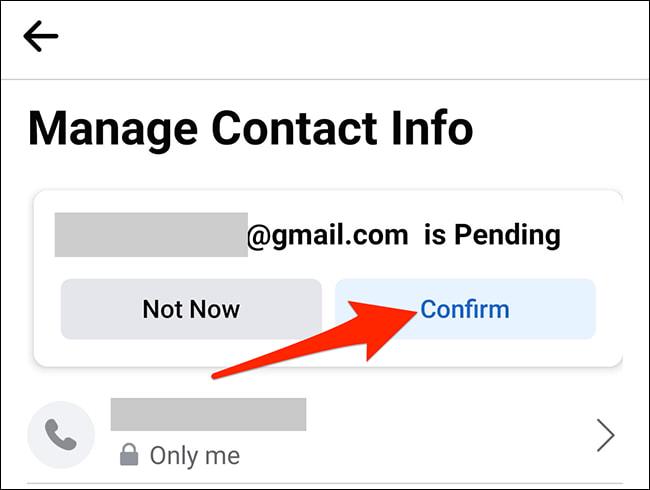doi email facebook bang ung dung 9
