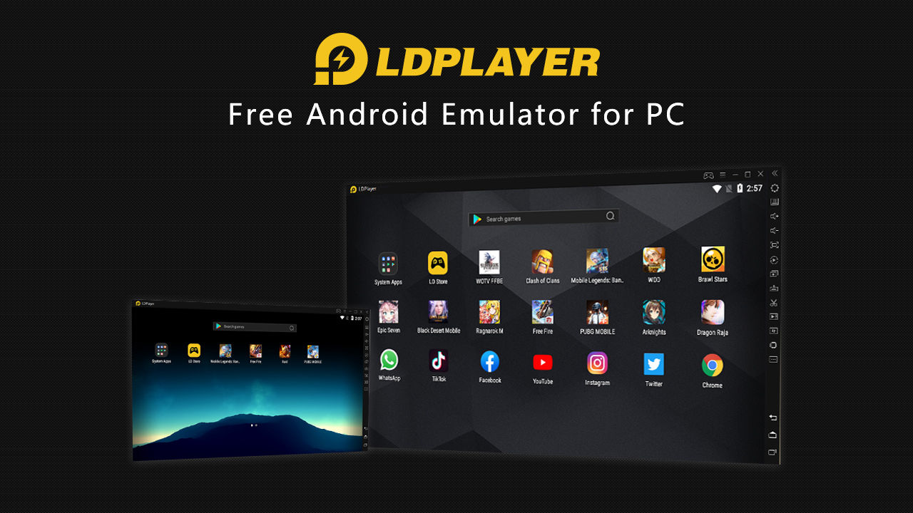 Giả lập Android LD Player