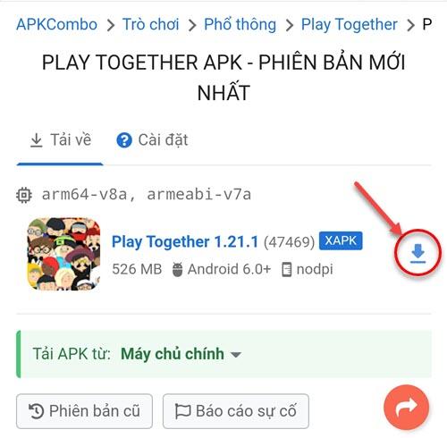 Tải Play Together từ APKCombo