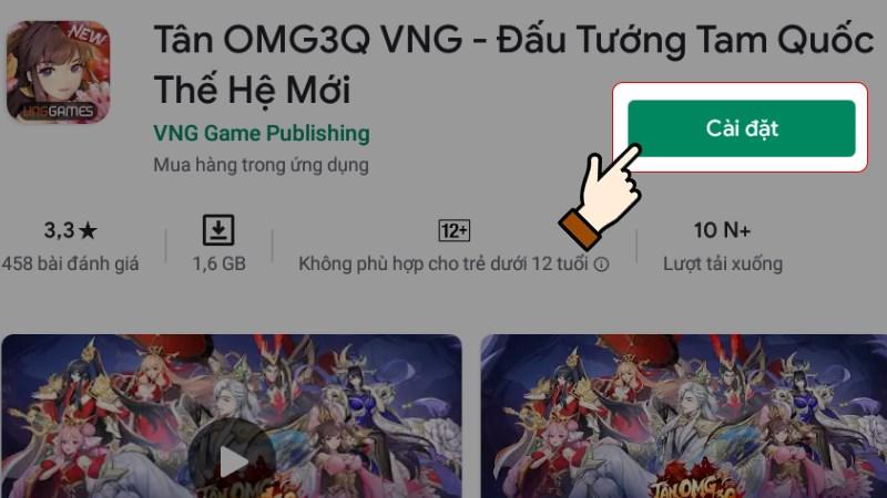 Tải Tân OMG3G VNG trên PC